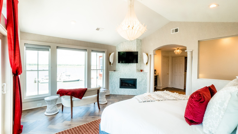 Olympus room Folly Beach Charleston Inn